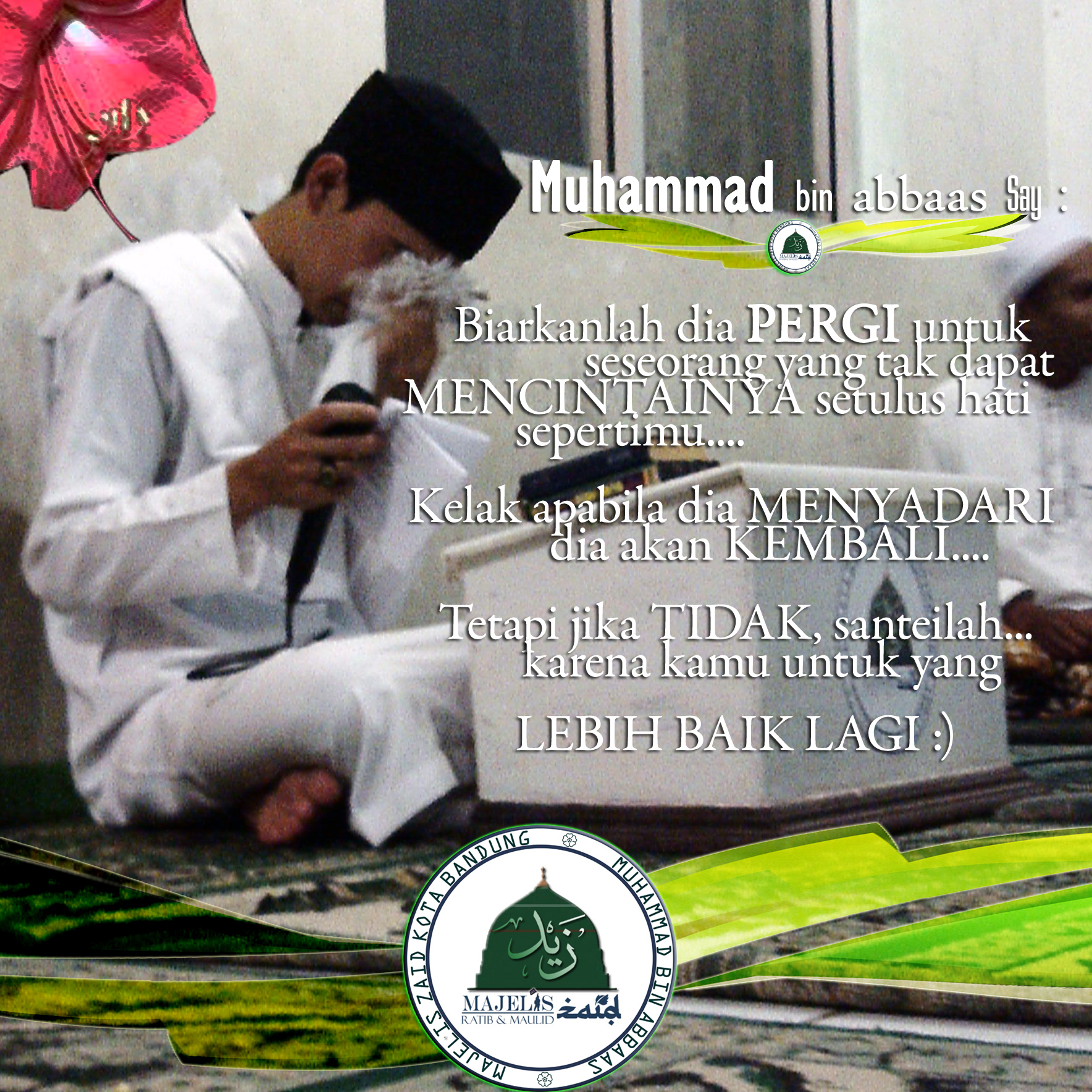 Kata Mutiara Cinta Islami 4 Majelis Zaid